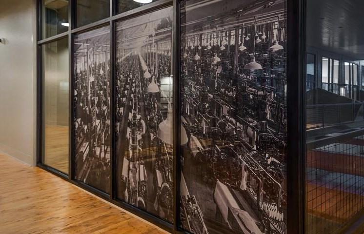Drayton Mills Lofts Hallway